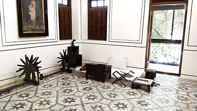 Mani Bhavan; Mumbai; India; Gamdevi; uasatish; Gandhiji's Room;