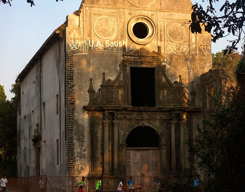 Vasai; India; Gonzalo Church; building; architecture; uasatish; Mumbai;