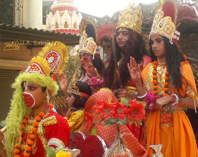 Vasai; Mumbai; India; religious procession; uasatish;