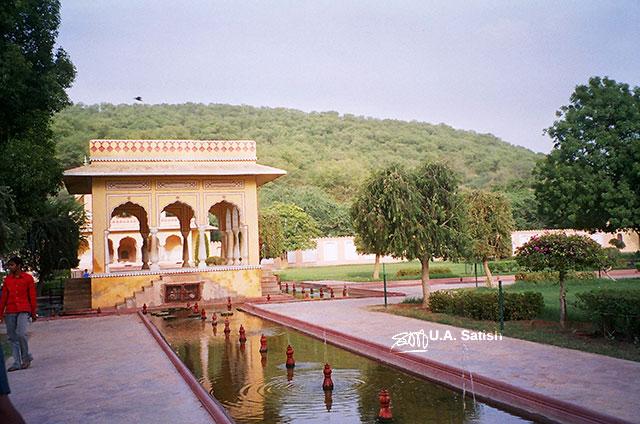 Jaipur; India; Rajasthan; building; architecture; uasatish; Kanak Vrindavan;