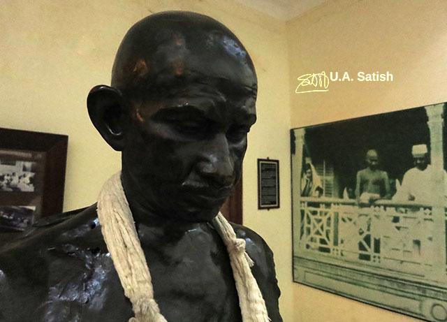 Mani Bhavan; Mumbai; India; Gamdevi; uasatish;; sculpture;