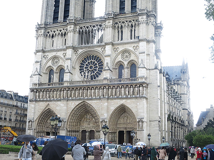 Notre Dame Cathedral; Paris; France; church; uasatish;