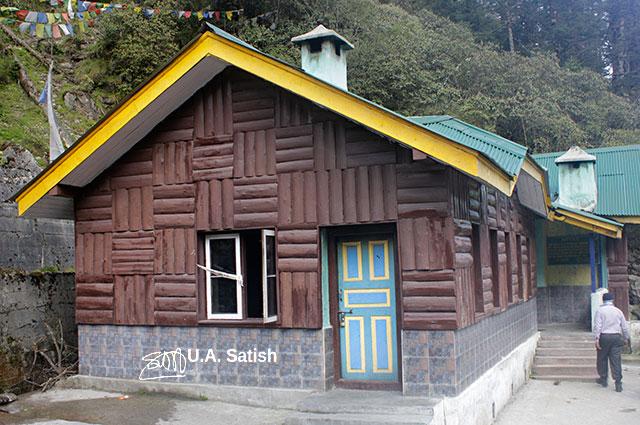 Yumthang, Sikkim, India, hut, uasatish,