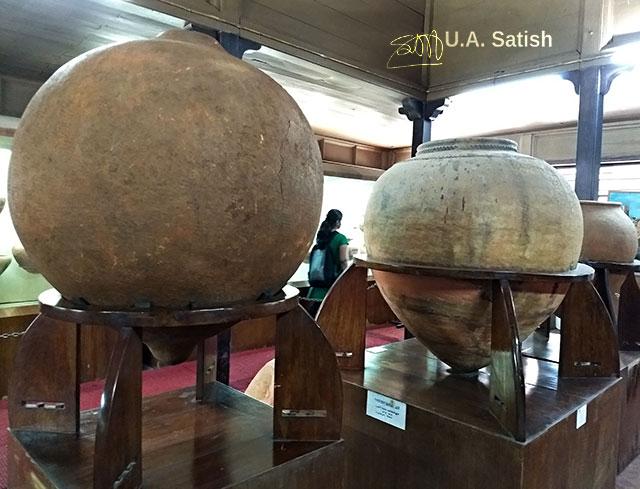 Pazhassi Raja Museum; museum; Calicut; India; Kerala; Kozhikode; uasatish; Pyriform burial jars;
