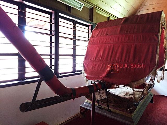 Pazhassi Raja Museum; museum; Calicut; India; Kerala; Kozhikode; uasatish;; palanquin;