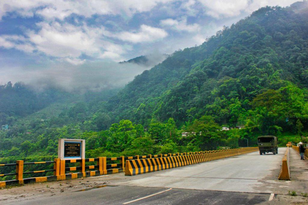 Bakcha Chu Bridge; By Road to Lachung from Gangtok; Sikkim; uasatish;