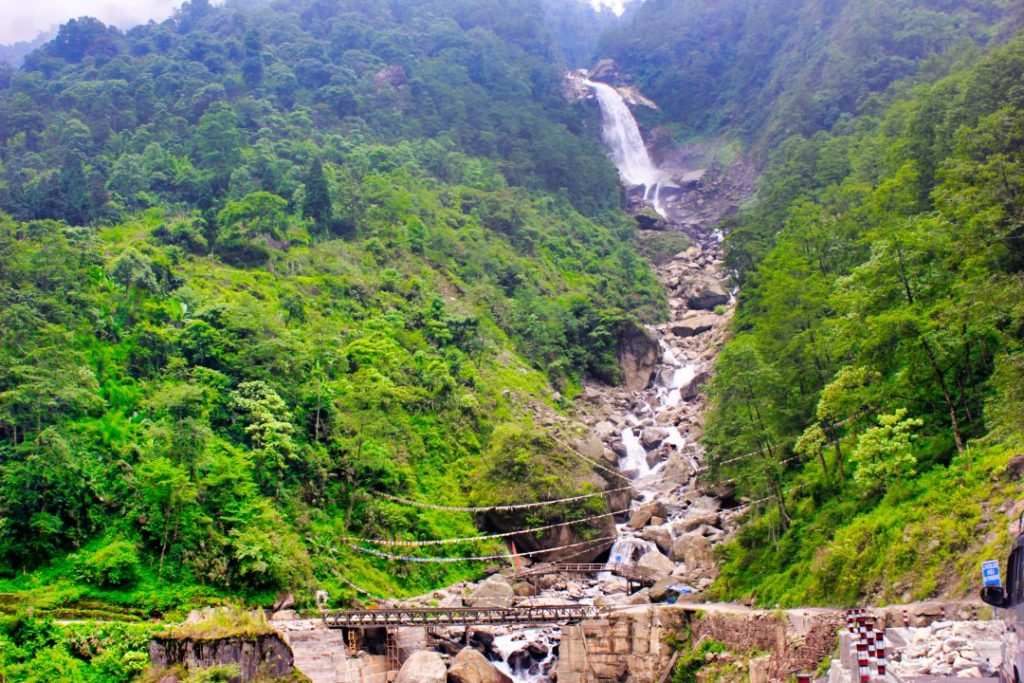 Bhewma Falls; Sikkim; uasatish;