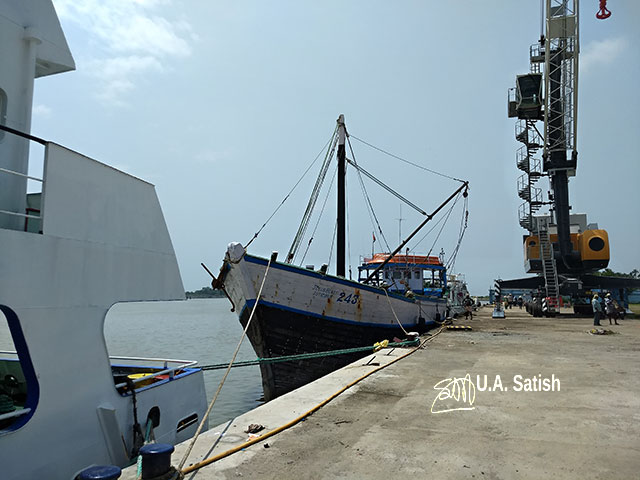 Beypore; Kerala; India; port; Beypore Port; uasatish; ship;