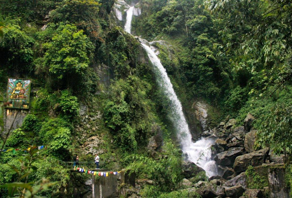 Seven Sisters Waterfalls; By road to Lachung from Gangtok; uasatish; Sikkim;
