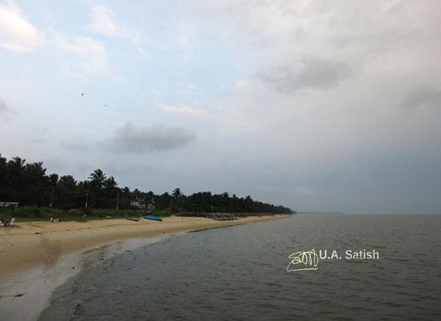 Kappad Beach; beach; Kozhikode; Calicut; Kerala; India; sea; sand; trees; sky; uasatish;