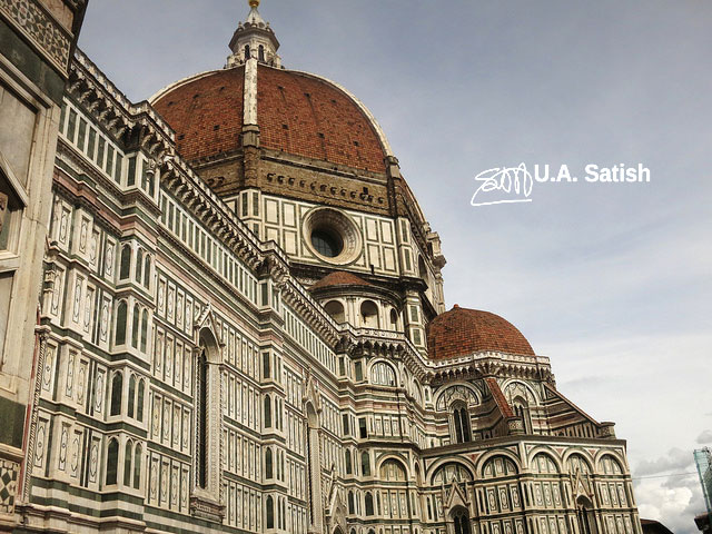 Cathedral Santa Maria del Fiore; Florence; Italy; church; travel; architecture; uasatish;