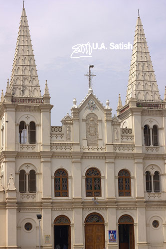 Santa Cruz Cathedral; church; Kochi; Kerala; India; church; travel; architecture; uasatish;