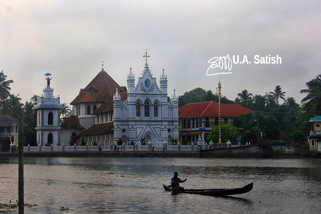 St. Mary's Forane Church; Pulinkunnu; Alappuzha; Kerala; India; church; travel; architecture; uasatish;