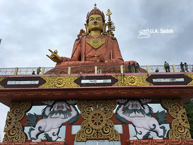 Samdruptse Hill; Namchi; Sikkim; India; statue; uasatish;