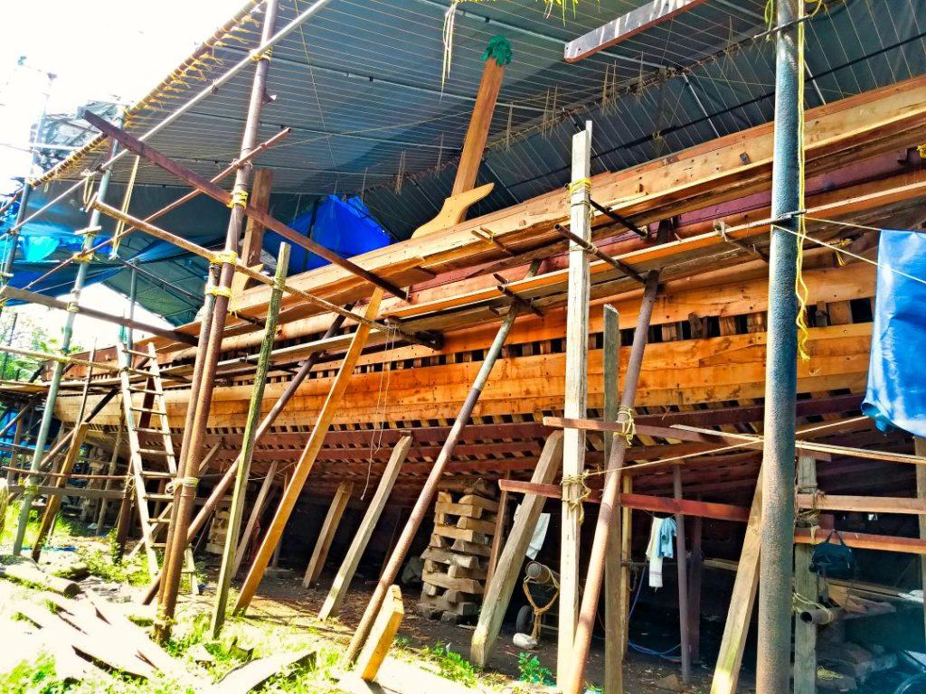 Work in Progress; Making of an Uru; Uru boat; uasatish;