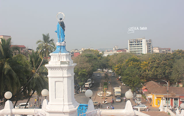 Church of Immaculate Conception; Panjim; Goa; India; church; uasatish;