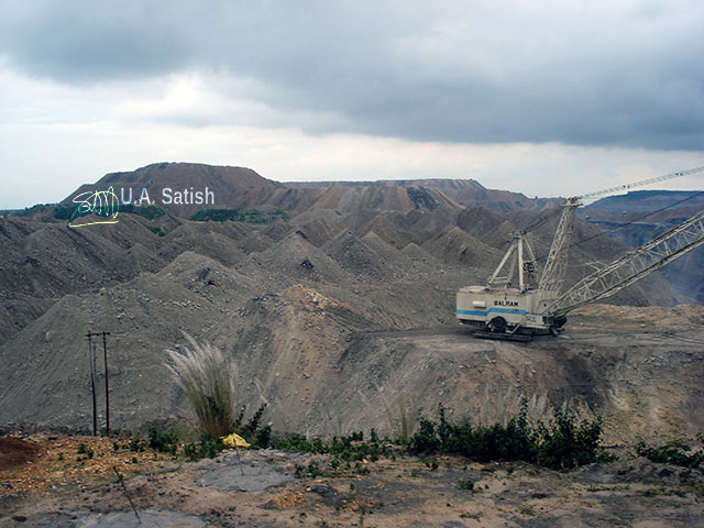 Singrauli; India's energy capital; coal mining; thermal power plant; India; Madhya Pradesh; uasatish; excavator;