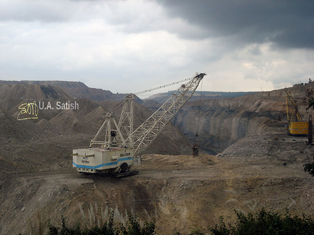 Singrauli; India's energy capital; coal mining; thermal power plant; India; Madhya Pradesh; uasatish; monster excavator;