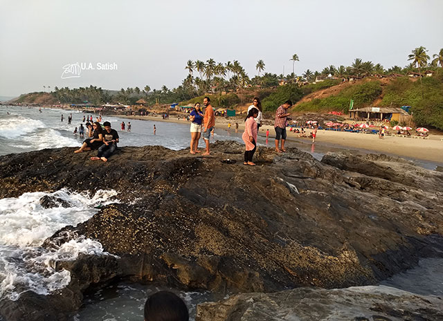 Ozran Beach; Goa; India; Little Vagator; uasatish; beach;
