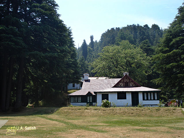 Kalatope Forest; Himachal Pradesh; India; cabin; forest; uasatish;