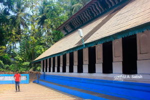 Odathil Palli; mosque; palli; Thalassery; Tellicherry; Kerala; uasatish; copper clad roof;