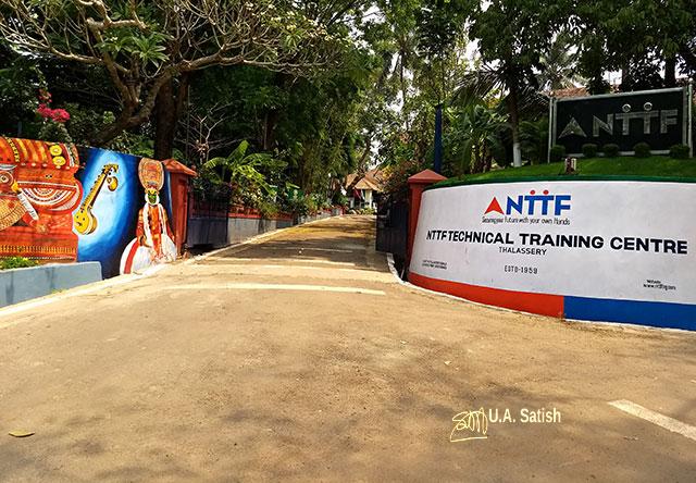 NTTF Technical Training Centre; Gundert Bungalow; Thalassery; Kerala; India; uasatish;