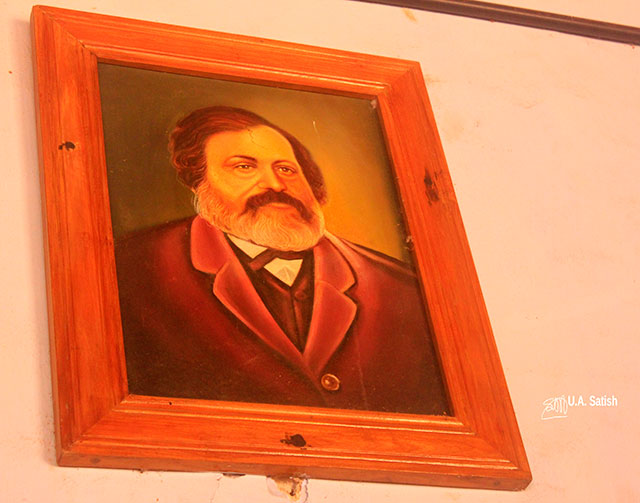 Hermann Gundert; portrait; Gundert Bungalow; Thalassery; Kerala; uasatish;