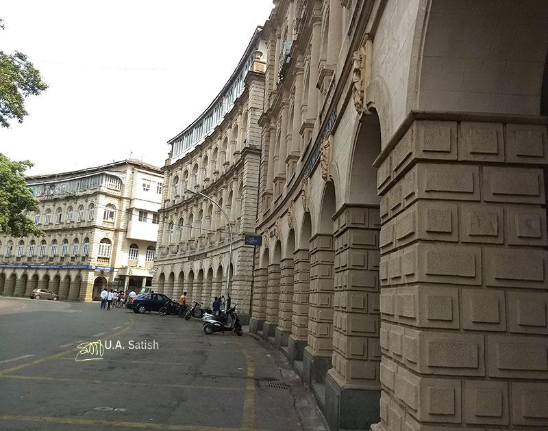 walking tour: South Mumbai; heritage district; Mumbai; heritage buildings; India; uasatish; mobile photography;