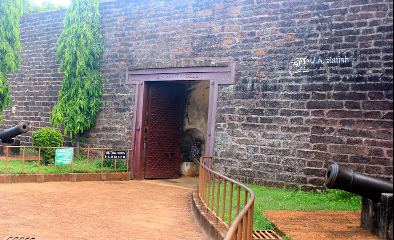 Kannur Fort; Fort St Angelos; Kannur; travel; Kerala; uasatish; main gate;
