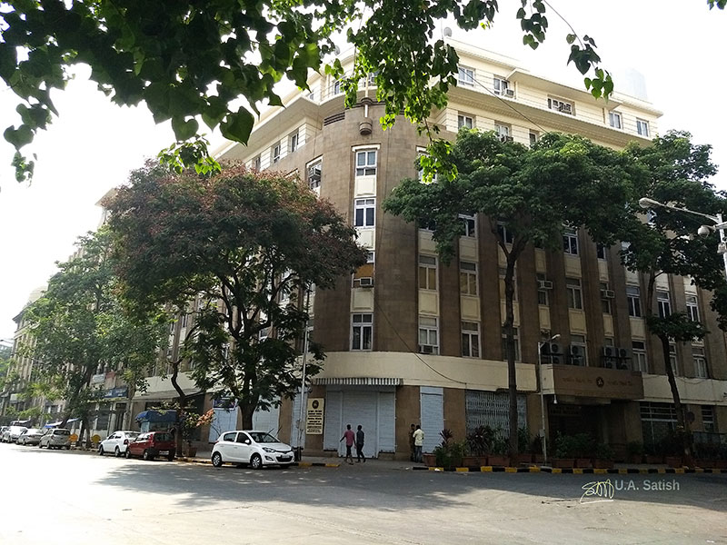 walking tour: South Mumbai; heritage district; Mumbai; heritage buildings; India; uasatish; Reserve Bank of India;PM Road;