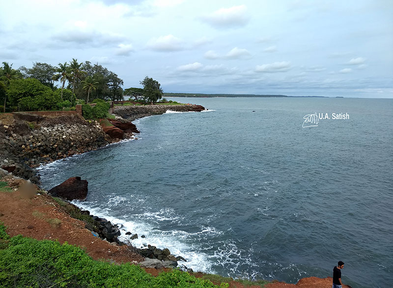 Kannur Fort; Fort St Angelos; Kannur; travel; Kerala; uasatish;