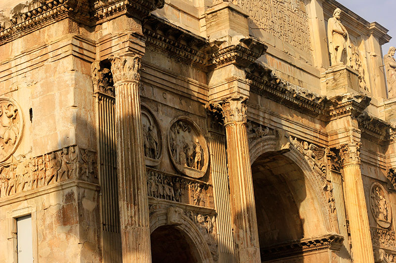 Arch of Constantine; Rome; Italy; ruins of ancient Rome; Italy; travel; uasatish;