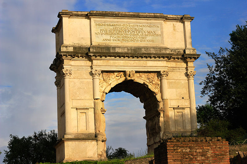 Arch of Titus; Rome; Roman Forum; Italy; ruins of ancient Rome; travel; uasatish;