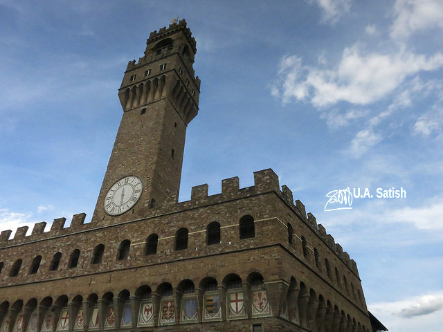 Palazzo Vecchio; architectural marvels from around the world; Florence; Italy; travel; architecture; uasatish;
