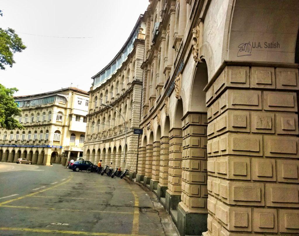 Horniman Circle; South Mumbai; walkig tour; uasatish; mobile photography;