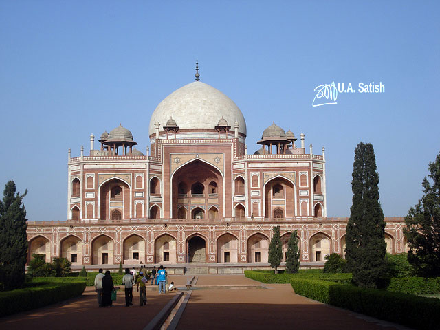 Humayun's Tomb; New Delhi; architectural marvels from aroud the world; travel; uasatish; architecture;