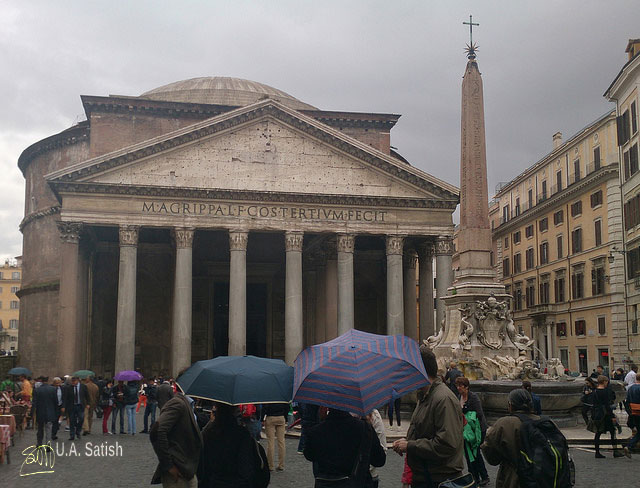 Pantheon; Rome; architectural marvels from around the world; travel; architecture; uasatish;