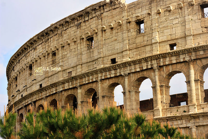 Roman Colosseum; architectural marvels from around the worrld; travel; Rome; Italy; uasatish;