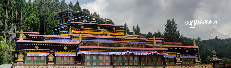 Rumtek Monastery; Gangtok; Sikkim; architectural marvels from around the world; architecture; travel; uasatish;
