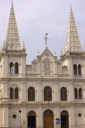 Santa Cruz Basilica; Kochi; architectural marvels from around the world. architecture; travel; uasatish; Kerala;