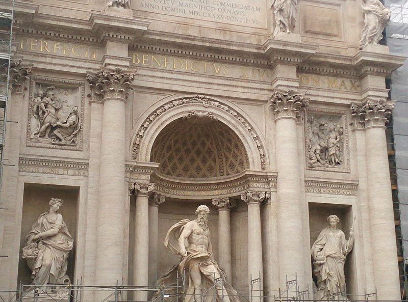 Trevi Fountain; Top Rome attractions; Rome; Italy; travel; uasatish;