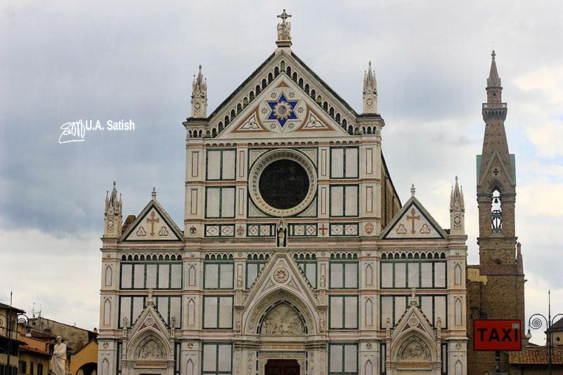 Santa Croce Basilica; Florence; Italy; uasatish;