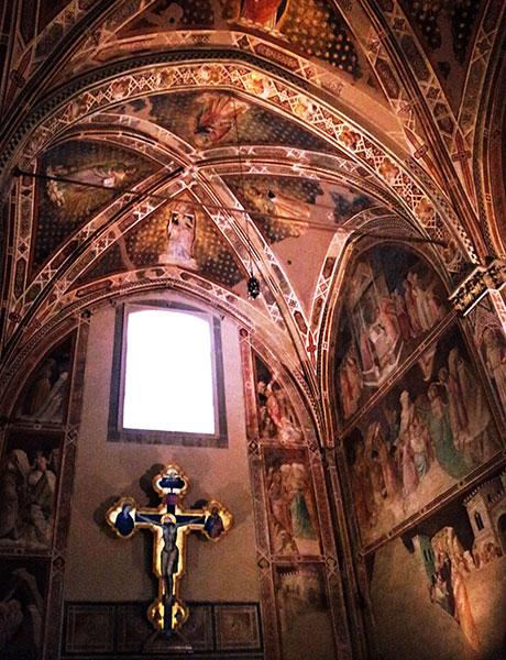 Santa Croce Basilica; Florence; crucifix; Italy; uasatish;