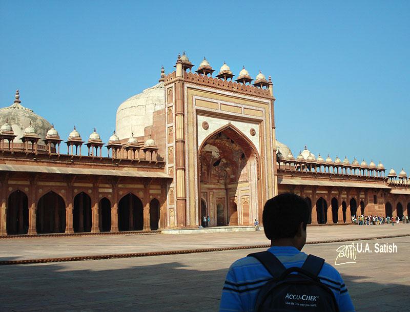 Fatehpur Sikri' Uttar Pradesh' Mughal Architecture; Jama Majid;
