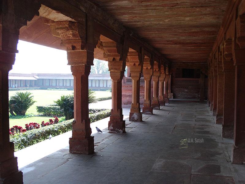 Fatehpur Sikri' Uttar Pradesh' Mughal Architecture; Palace!