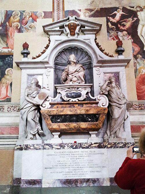 Santa Croce Basilica; Florence; Italy; Galileo; monument; uasatish;