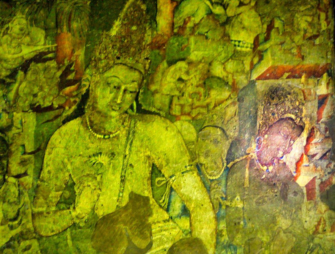 Ajanta Cave 1 Ancient Buddhist Monastery U A Satish