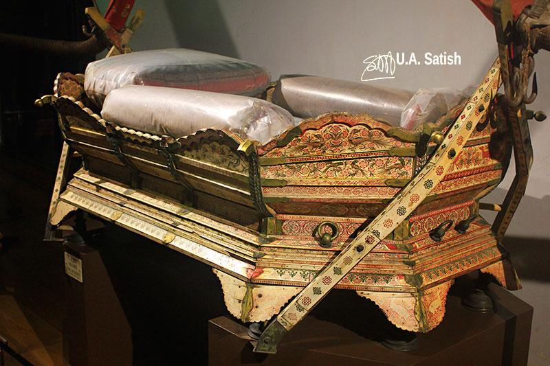 Mattancherry Palace; museum; Kochi; Kerala; ceremonial palanquin; uasatish;