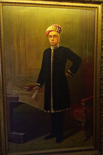 Majaraja Kerala Varma; Mattancherry Palace; Kochi; museum; Kerala; uasatish; painting;