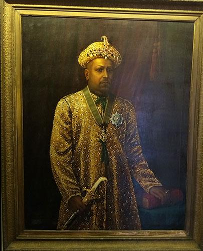 Mattancherry Palace; museum; Kochi; Maharaja Rama Varma; Shakthan Thampuran; painting; uasatish;